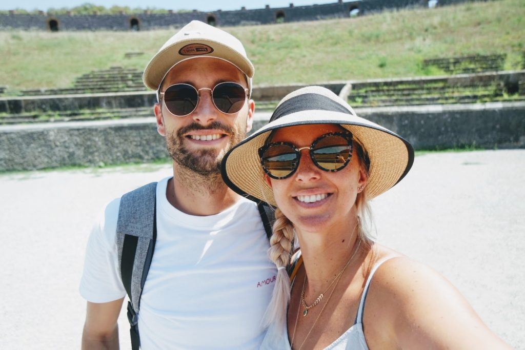 pompei couple visite